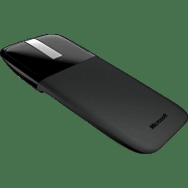 Mouse inalámbrico Arc Touche, tecnología Bluetrack, color negro.