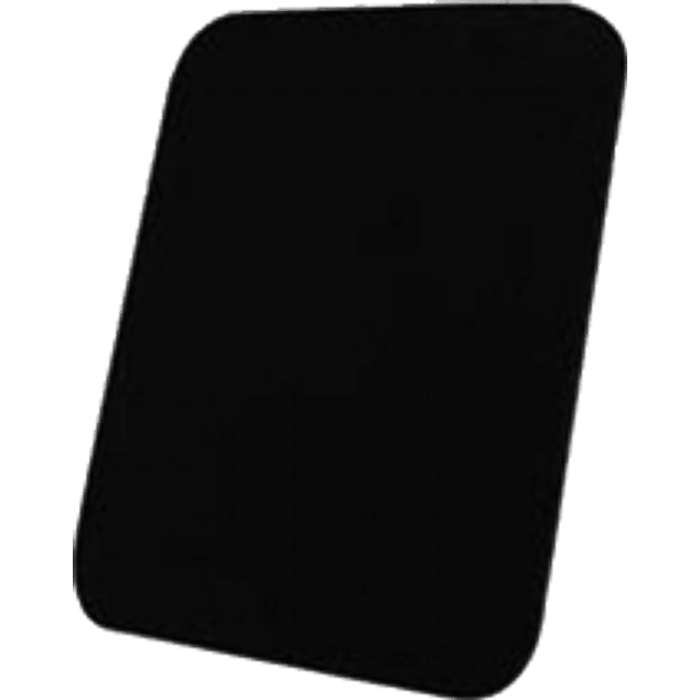 Mousepad Espuma color negro liso