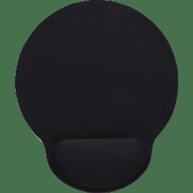 Mousepad con descansa muñecas de gel color negro
