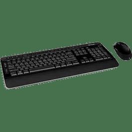 KIT Teclado multimedia y Mouse bluetrack inalámbrico modelo 3050