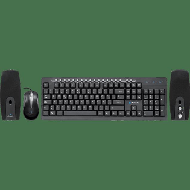 Kit Teclado, Mouse, y Bocinas AK3-3000