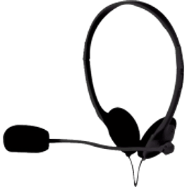 Diadema audífono con micrófono con control de volumen