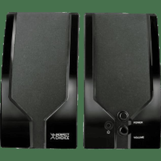 Bocinas PC-111641,  3.5mm, 400 Watts