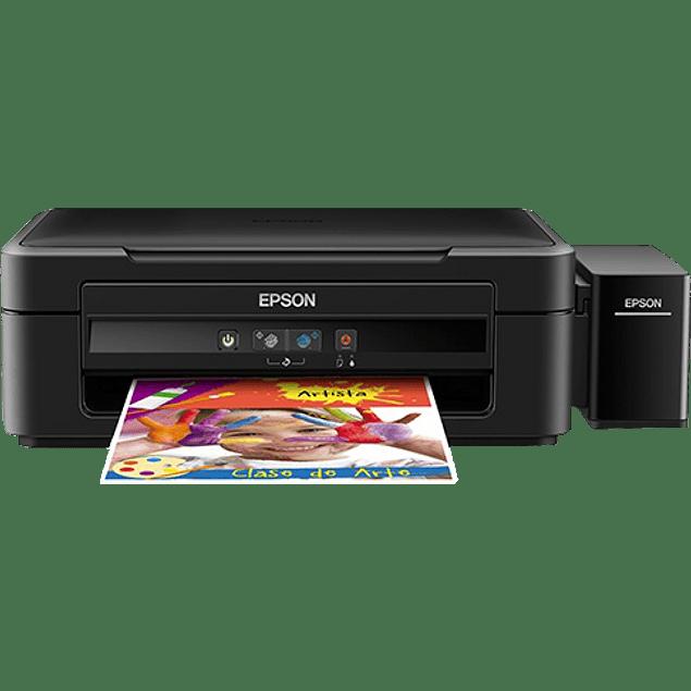 Multifuncional L380 tinta continua. Imprime alta velocidad, imprime, copia y escanea