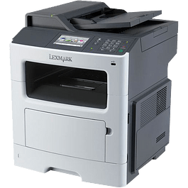 Multifuncional MX410DE, funciones de impresión, copia, fax, digitalización