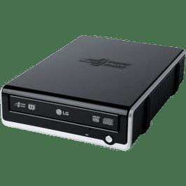 Quemador DVD externo 8x light Scribe USB