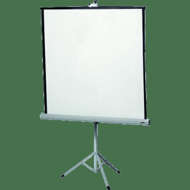 Pantalla de proyección portátil de tripié 1.78 x 1.78 metros