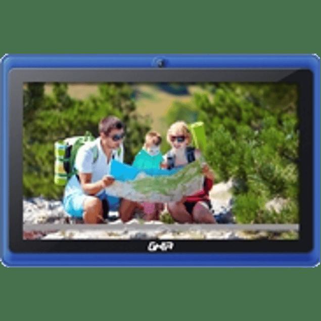 Tablet any 7 quattro+47418, 5ptos, quad, 1gb, 8gb, 2cam, Wifi, Android 4.4/azul