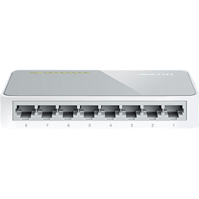 Switch 8 puertos 10/100 MBPS  Fast-Ethernet
