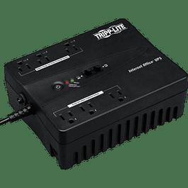 No Break 350 con 3 contactos, protector de líneas fax, modem