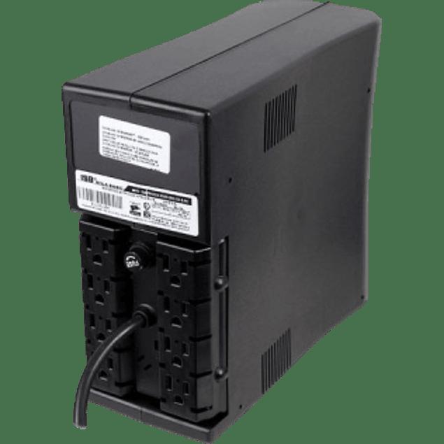 No Break, Modelo Protector de 450 V.A. 8 contactos, con regulador