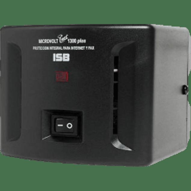 Regulador Micro Volt 1300VA, 750W, con 8 contactos
