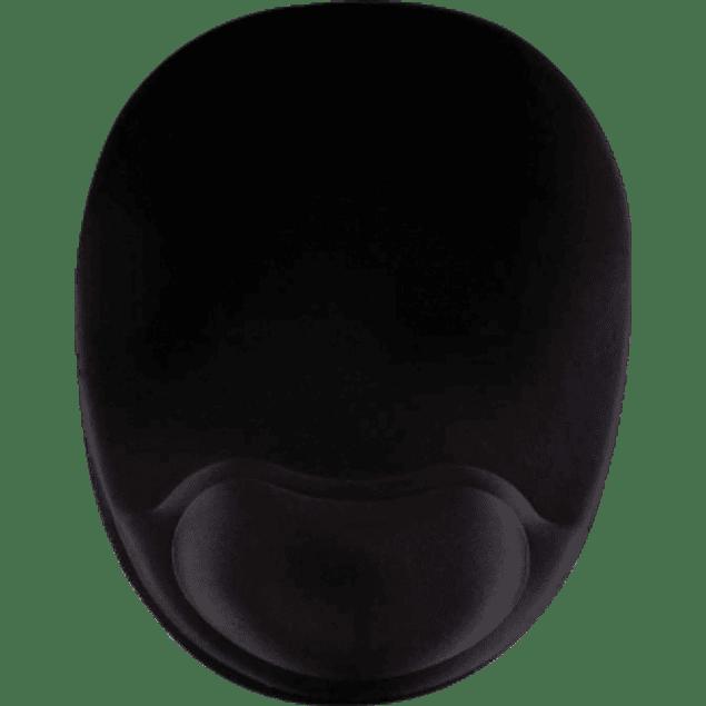 Mousepad con Descansa Muñecas de Gel, 20x26cm, Grosor 2mm, color Negro