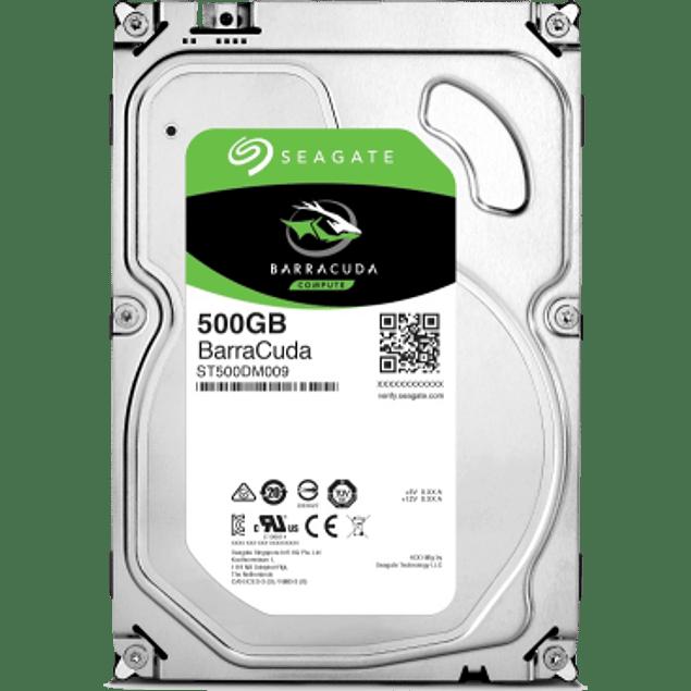 Disco Duro Interno 3.5'', 500GB, SATA III, 7200RPM, 32MB Cache