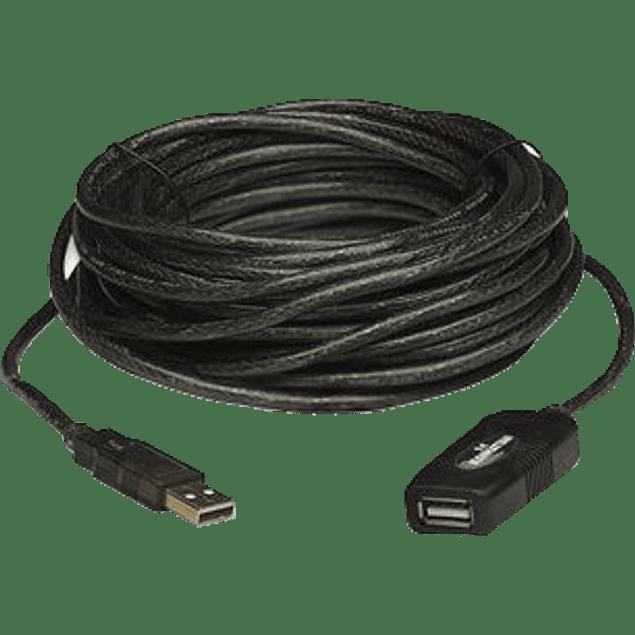 Cable de Extensión Activa Manhattan - USB 2.0 - 10 Mts