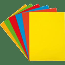 Hoja Cartulina diferentes colores
