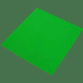 Papel Adhesivo color verde tamaño carta, con 100 piezas.