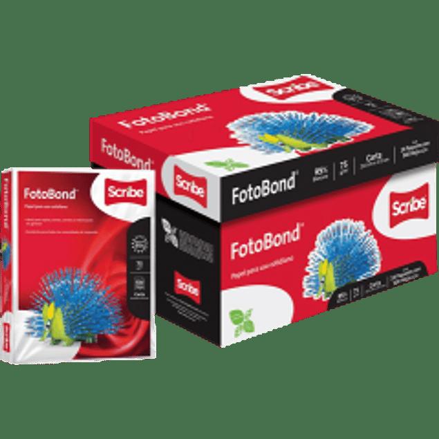 Papel Bond color blanco, tamaño carta, caja con 10 paquetes de 500 hojas