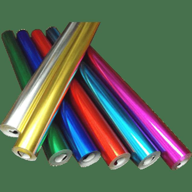 Rollo de papel metálico liso de 10 metros