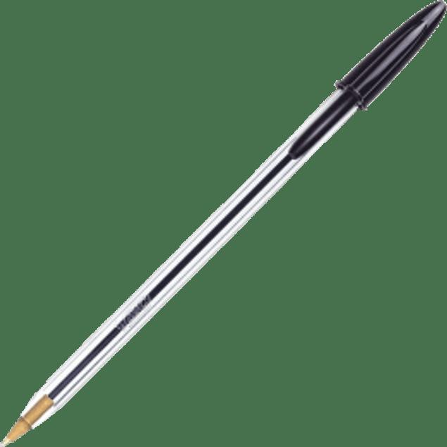 Bolígrafo punto mediano color negro