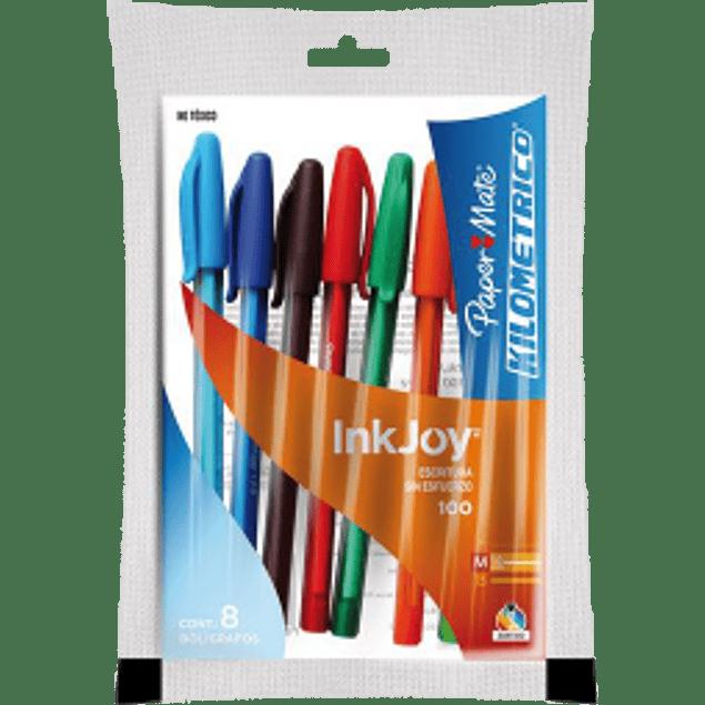 Bolígrafo con 8 piezas Kilométrico