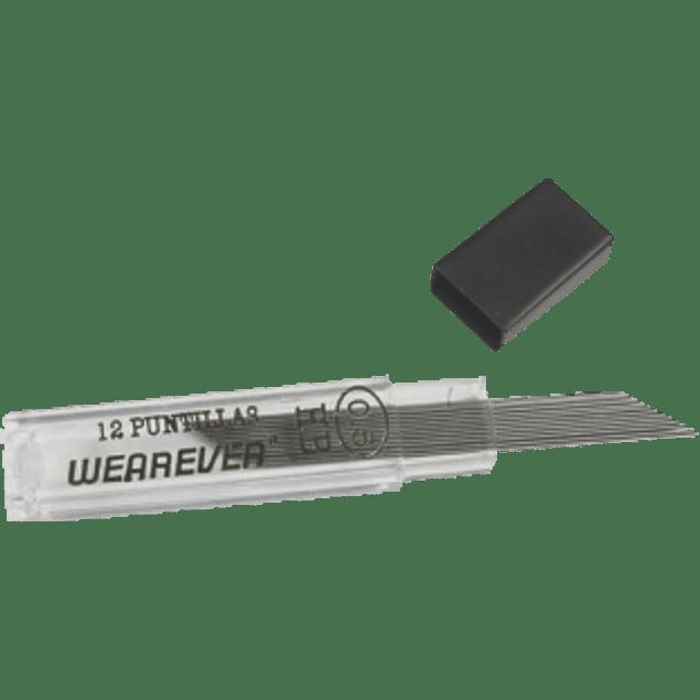 Puntillas 0.5 mm 1 tubo con 12 puntillas