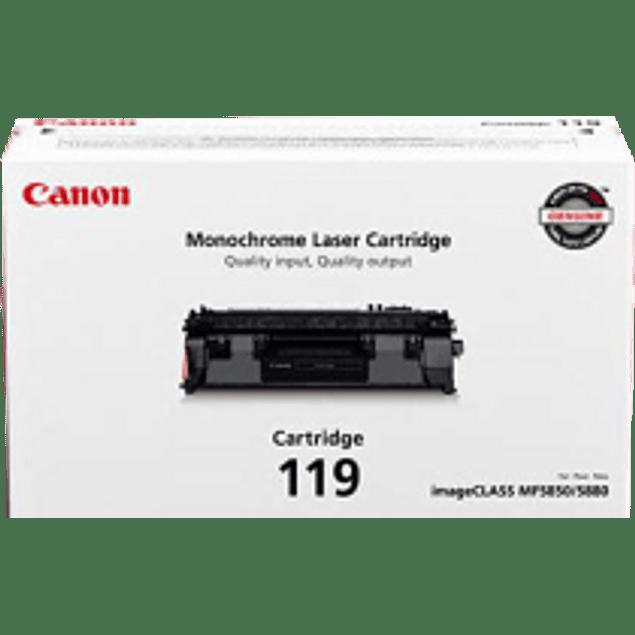 Cartucho de tóner 119 compatible con: IMAGECLASS MF5950DW y MF5960DN RENDIM