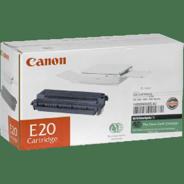 Cartucho tóner E-20 para copiadora PC300/ 325/ 330L/ 400/ 425/ 428/ 430/ 745/ 920/ 940/ 950/ 941/ 140/ 150/ 160/ 1700