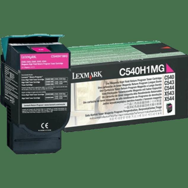 Tóner color magenta para impresora C543DN alto rendimiento