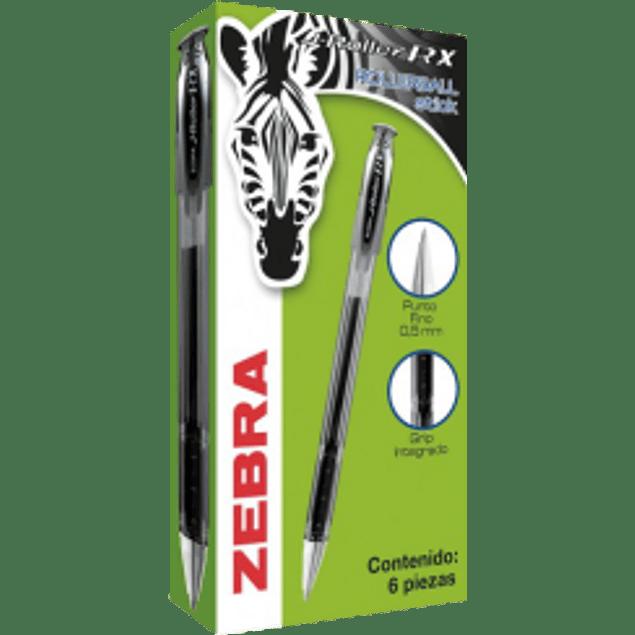 Bolígrafo color negro punta de 0.5 mm J-ROLLER