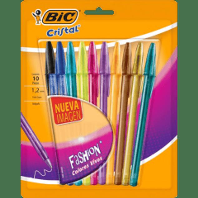Bolígrafo colores surtidos, paquete con 10 piezas, Shimmer