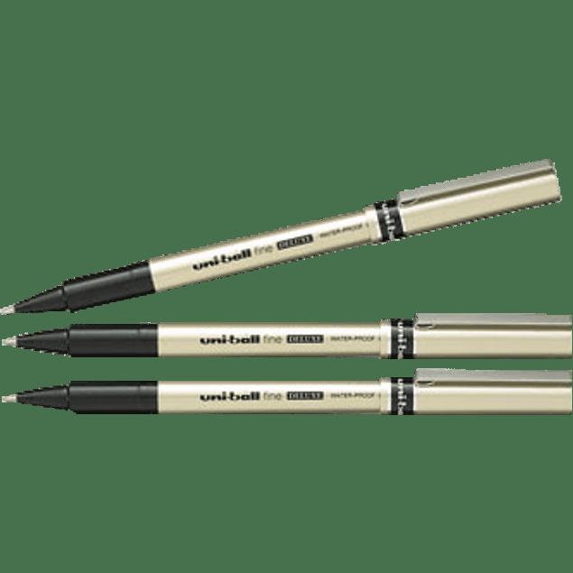 Bolígrafo punto fino de 0.7 mm Roller Micro Deluxe Uni-Ball