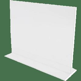 Porta letrero horizontal 11