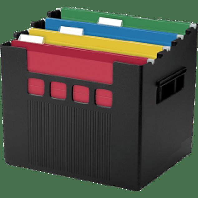 Archivo para escritorio color negro