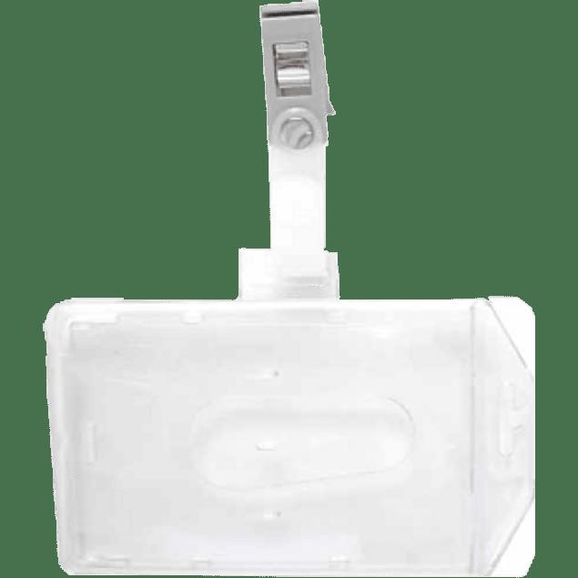 Porta gafete acrílico de 6 x 9 cm, por pieza