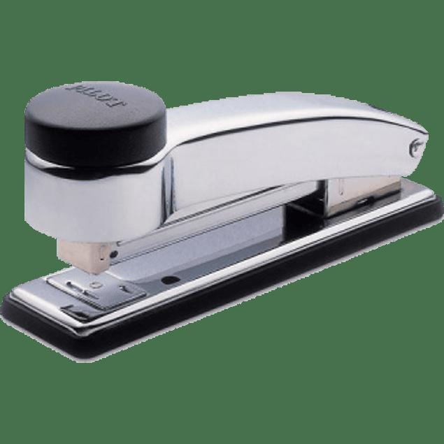 Engrapadora tira completa de golpe modelo 401, cromo alto brillo,de acero