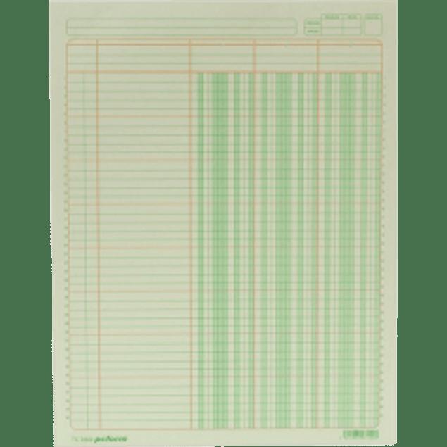 Block tabular con concepto de 3 columnas