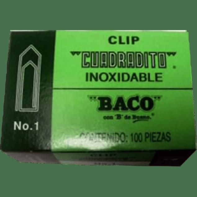 Clip Cuadradito No. 1