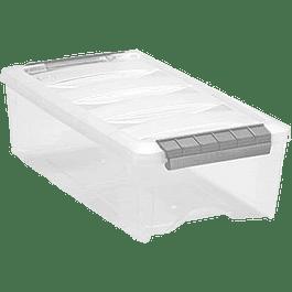 Caja plástica estibable, capacidad 5.3 litros