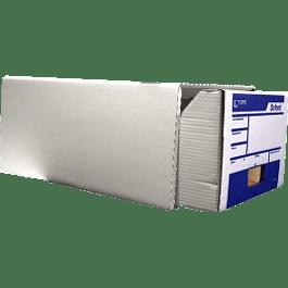 Caja para Archivo color blanco, con gaveta deslizable, tamaño oficio.