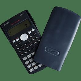 Calculadora Cientifica con 240 funciones. 10+2 dígitos.