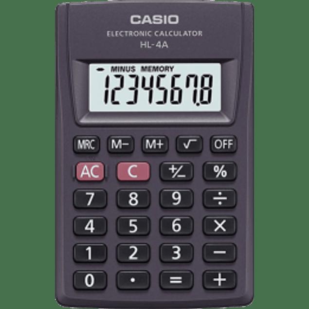 Calculadora Básica de 8 dígitos.
