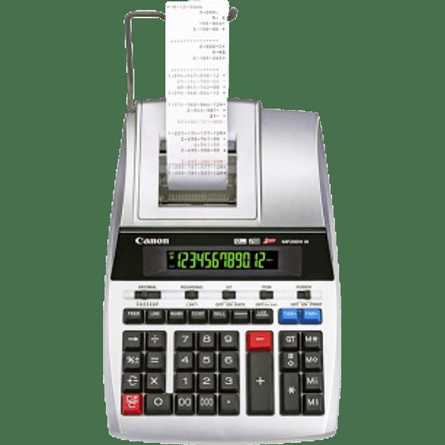 Sumadora MP20 DHIII de 12 dígitos, impresión a 2 colores