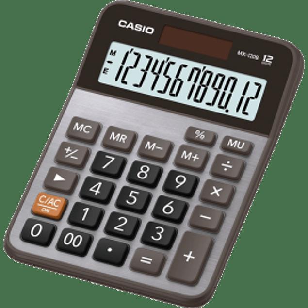 Calculadora MX120B semi-escritorio 12 dígitos.