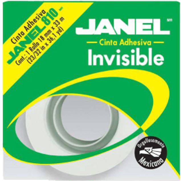 Cinta Invisible 810 18 mm x 33 m.