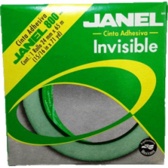 Cinta Invisible 810, medidas 24 mm x 65 m