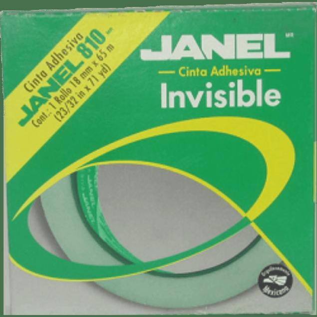 Cinta Invisible 810 medidas 18 mm x 65 m