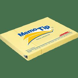 Nota Adhesiva Removible color amarillo, medidas 7.56 x 10.08 cm.