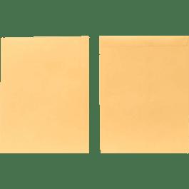 Sobre Bolsa color manila con solapa engomada, tamaño legal.