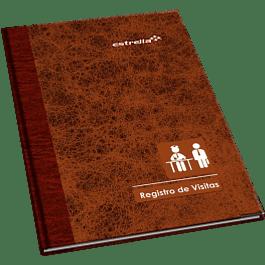 Libro de visitas, forma francesa de 96 hojas.